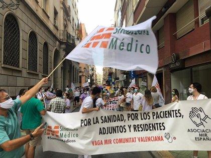 """Els MIR mantenen la vaga davant la """"falta de voluntat"""" de la Conselleria per a negociar i buscar solucions"""
