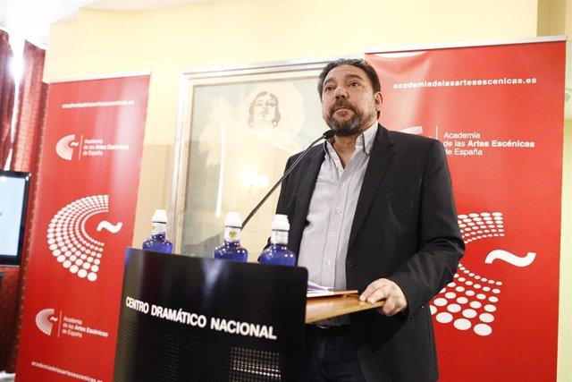 Antonio Onetti, guionista español y actual presidente de la SGAE