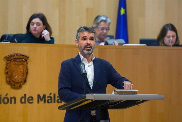 El presidente del PSOE de Málaga y portavoz socialista en la Diputación, José Bernal