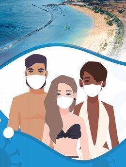 Imagen de la campaña 'Santa Cruz, ciudad segura. Protégete. Protégenos' (recurso)