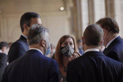 """Armengol pide que los ERTE se prolonguen en Baleares """"al menos"""" hasta final de año en el sector turístico"""
