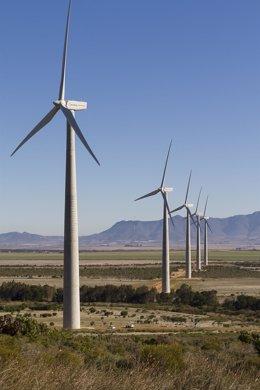 Parques eólicos suministrados por Nordex