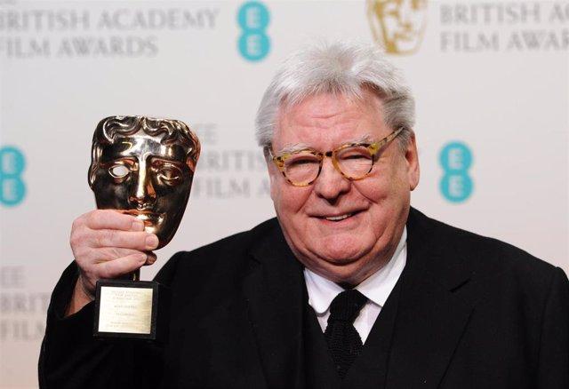 Sir Alan Parker en la ceremonia de los BAFTA en 2013