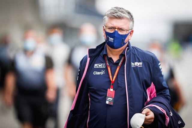 "Fórmula 1/GP G.Bretaña.- Racing Point no cree que Sergio Pérez ""hiciese  algo ma"