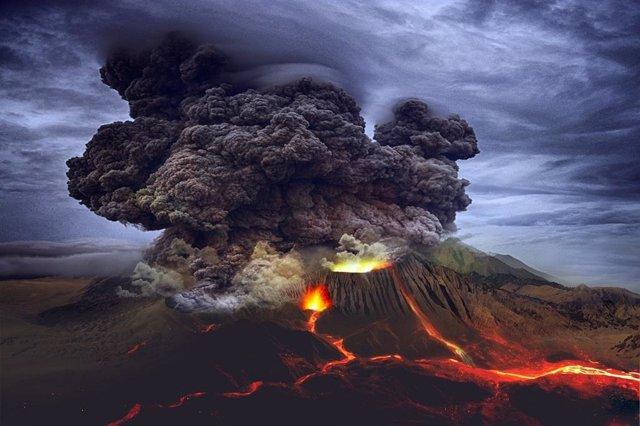 Una fuerte actividad volcánica enfrió la Tierra 13.000 años