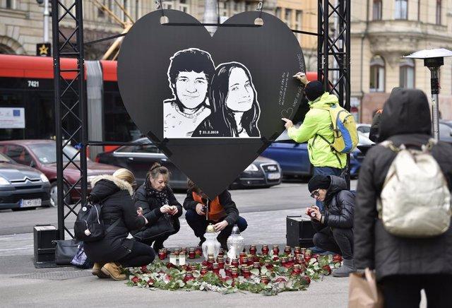 Eslovaquia.- Los acusados por el asesinato en Eslovaquia del periodista Jan Kuci