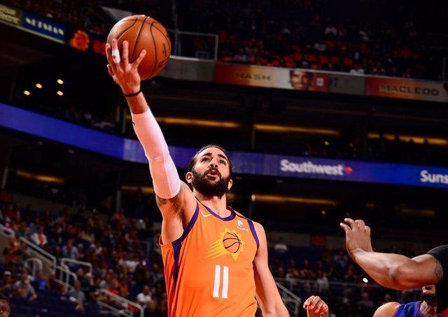Ricky Rubio (Phoenix Suns) durante un partido de la NBA 2019-2020