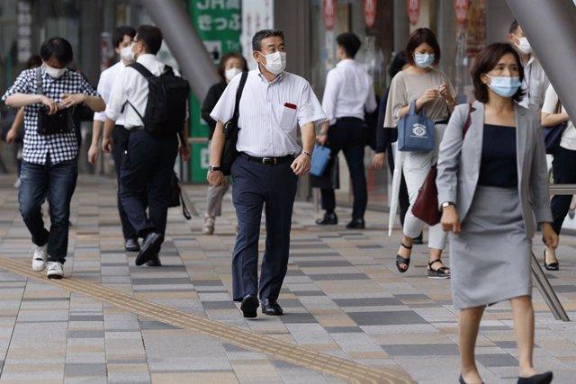 Coronavirus.- Tokio registra un nuevo récord de casos diarios de coronaviros con