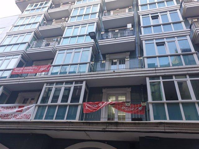 Sede del PSC-PSOE en Bonifaz