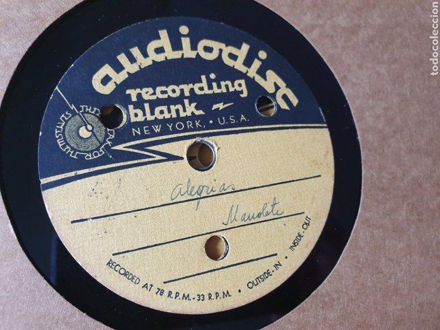 Disco con grabaciones inéditas de Manolete