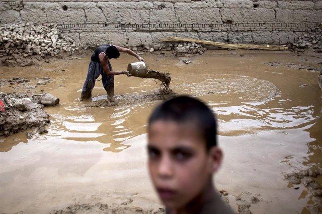 Inundaciones en Afganistán (Imagen de archivo)