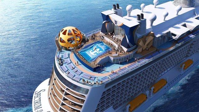 El Barco de Royal Caribbean' 'Spectrum of the Seas'