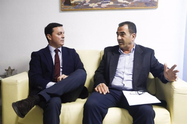 El presidente de la Diputación con el alcalde de La Mojonera