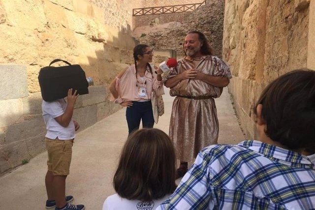 Visitas guiadas al Teatro Romano de Cartagena