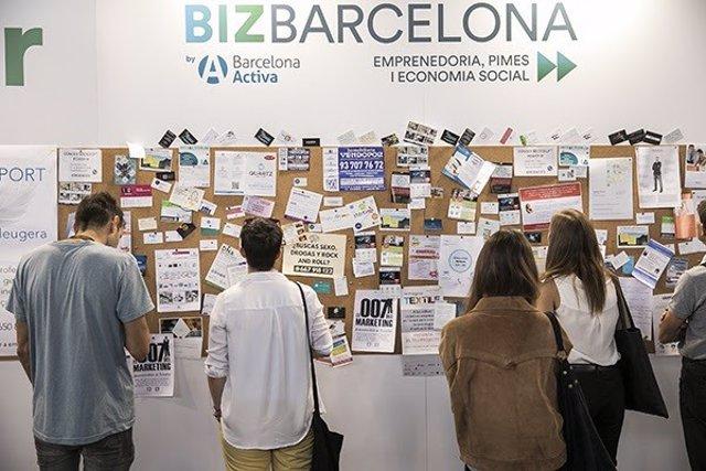 Salón Bizbarcelona, en Fira de Barcelona