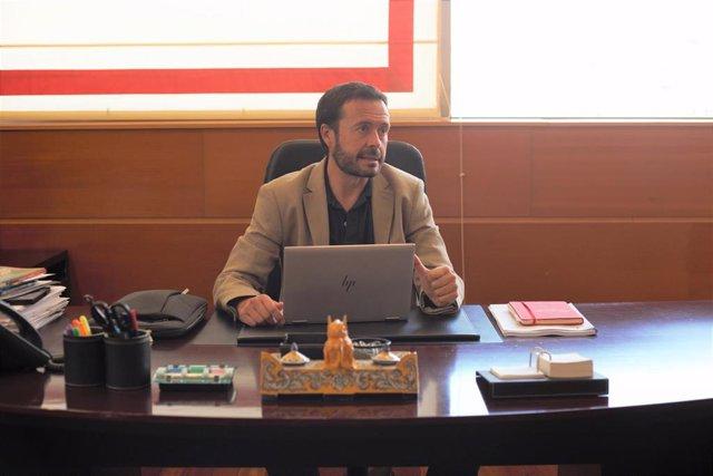 El consejero de Desarrollo Sostenible del Gobierno de Castilla-La Mancha, José Luis Escudero, en entrevista con Europa Press