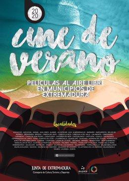 Cartel Cine de Verano de Aupex