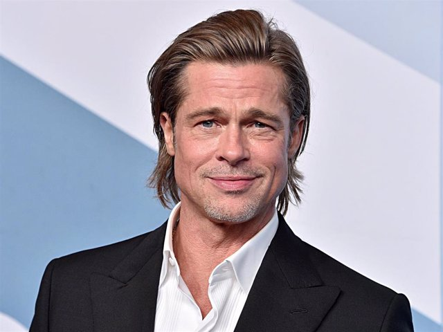 Brad Pitt, winner Outstanding Performance by a Male Actor in a Supporting Role for 'Once Upon a Time in Hollywood'.