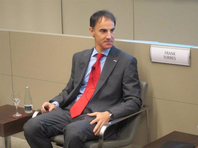 El responsable de operaciones industriales de Nissan Motor Ibérica, Frank Torres