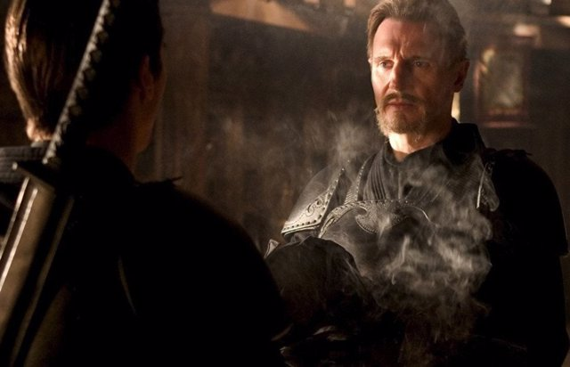 Liam Neeson en una imagen de Batman Begins