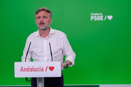 """PSOE-A critica que Moreno actúe """"bajo el yugo del PP, vendiendo incluso a los andaluces para medrar en su partido"""""""
