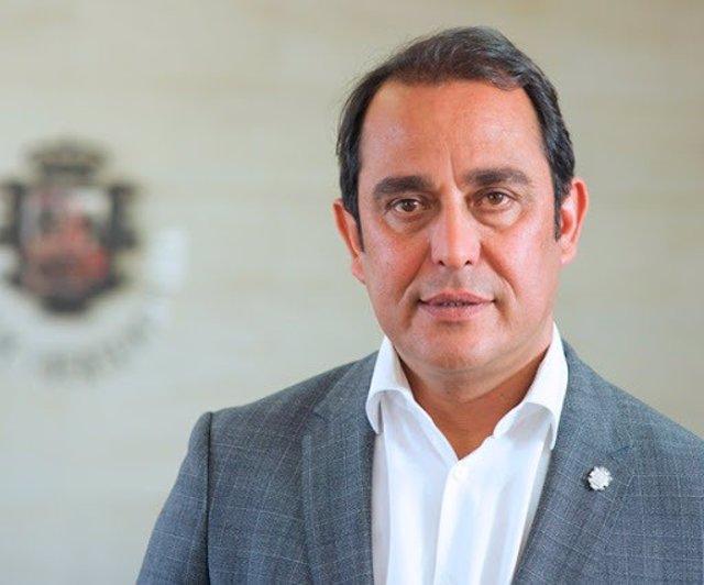 El presidente del Cabildo de Fuerteventura, Blas Acosta