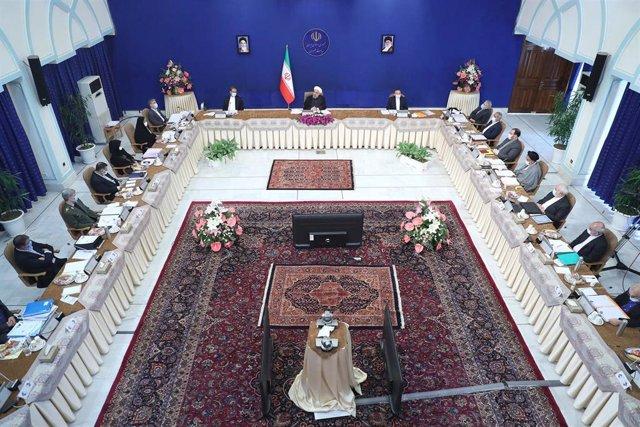 Reunión de gabinete del Gobierno iraní