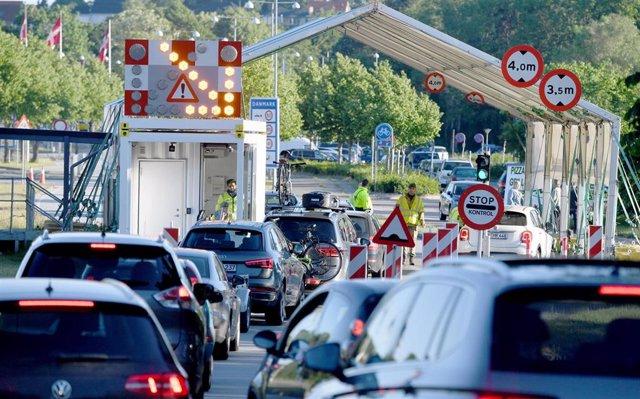 Retenciones en la frontera entre Dinamarca y Alemania