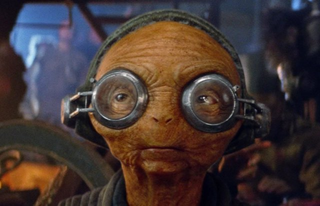 Maz Kanata, uno de los personajes de Star Wars