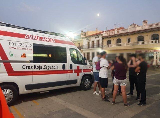 Ambulancia de Cruz Roja