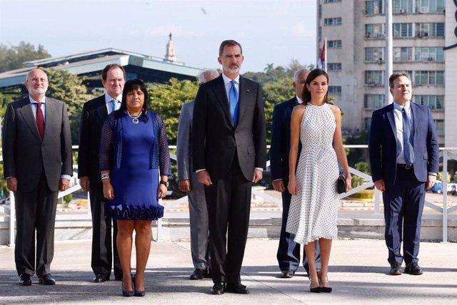 Los Reyes trasladan su pésame a la familia de Eusebio Leal y destacan su legado