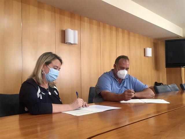 Firma convenio CPAER I