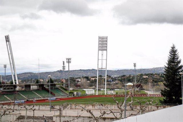 Imagen de las instalaciones de la Ciudad del Fútbol de la RFEF en Las Rozas (Madrid)