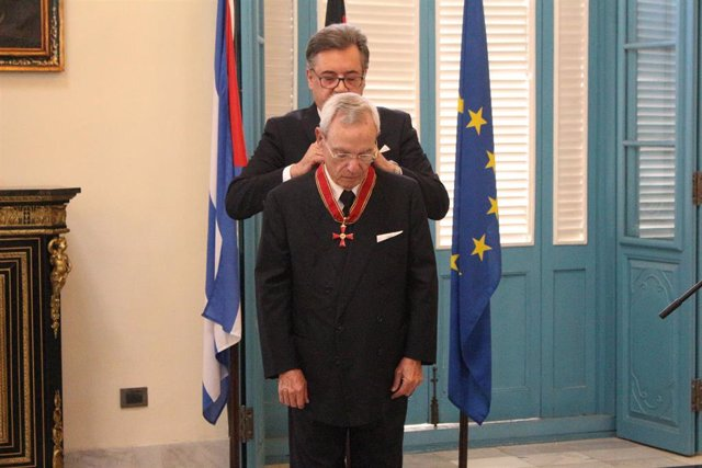 El historiador cubano Eusebio Leal