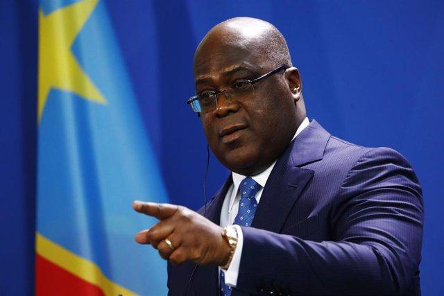 El presidente de República Democrática del Congo, Félix Tshisekedi