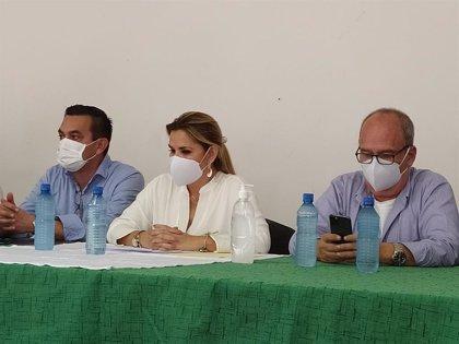 """Áñez apela a la """"solidaridad"""" para hacer frente al coronavirus en Bolivia"""