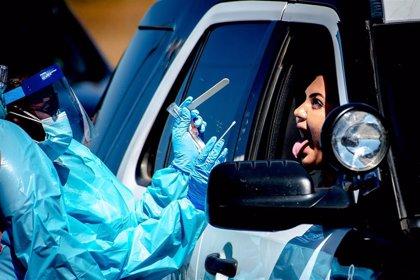 California se convierte en el primer estado de EEUU en superar el medio millón de contagios de coronavirus