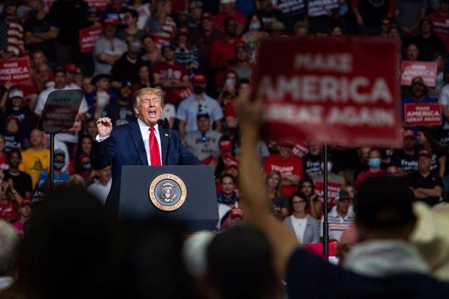 EEUU.-La convención republicana para nominar a Trump a la Presidencia no permiti