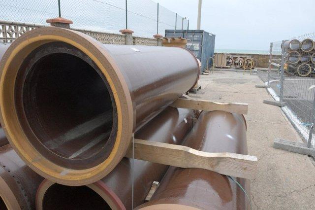 Aguas de Cádiz ha eliminado ya 5,19 kilómetros de tubería de fibrocemento de la red de abastecimiento