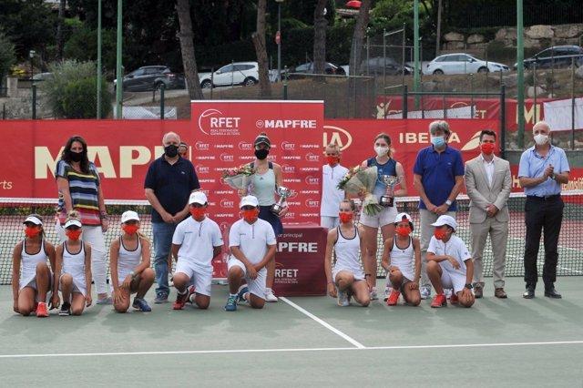 Tenis.- Bucsa conquista la última final de la Liga Mapfre en Les Franqueses