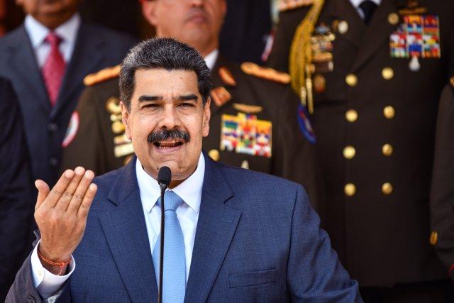Foto de archivo de Nicolás Maduro