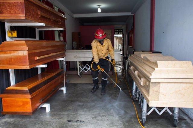 Coronavirus.- Venezuela rebasa la barrera de los 20.000 casos de coronavirus tra