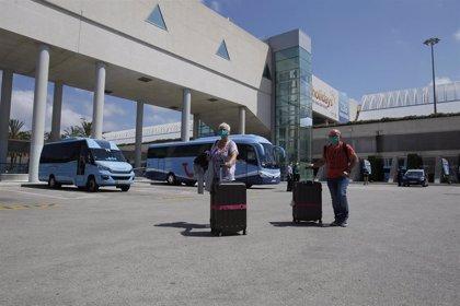 La llegada de turistas cae un 98,6% en Baleares en junio y el gasto se desploma un 98,7%