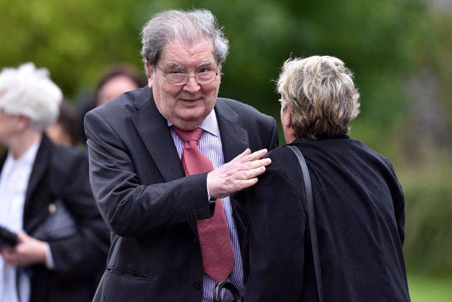 R.Unido.- Muere el premio Nobel de la Paz John Hume