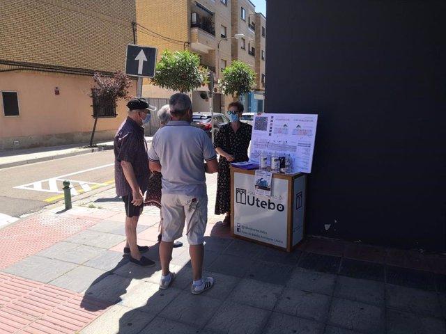 Zaragoza.- Los vecinos de Utebo participan en el proceso de mejora de las calles