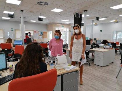 La Junta mejora las instalaciones de la Oficina del SAE de Ronda con una inversión de 134.000 euros