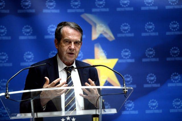 Foto de archivo del presidente de la Federación Española de Municipios y Provincias (FEMP), Abel Caballero, a 21 de julio de 2020