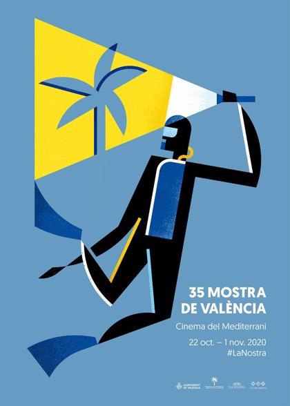 El diseñador Vicent Ramon firma la imagen de la 35 edición de Mostra de València
