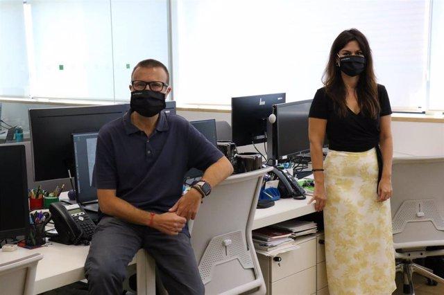 El director científico del Programa de Prevención del Alzheimer del BBRC, Jose Luis Molinuevo, y la doctora Eider Arenaza-Urquijo, que han participado en el estudio