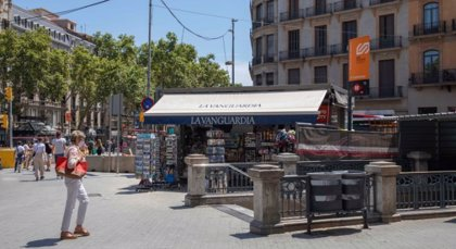 Ferrocarrils cierra el acceso de La Rambla de la estación de Plaça Catalunya por obras